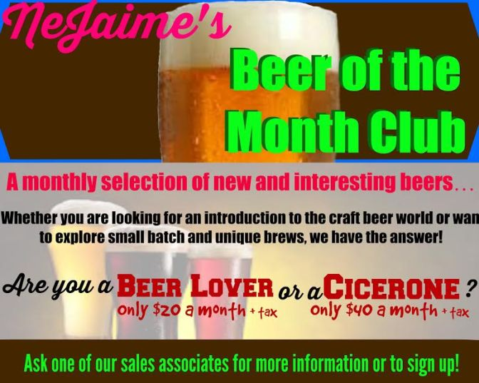 beer of month